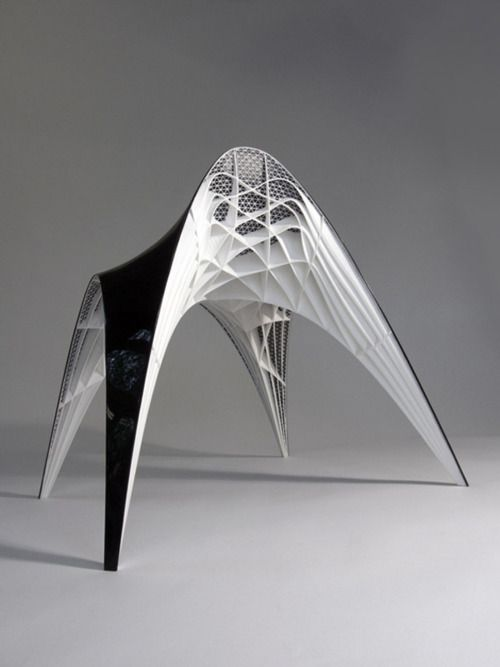 Gaudi seat by Bram Geenen #3Dprint #furniture