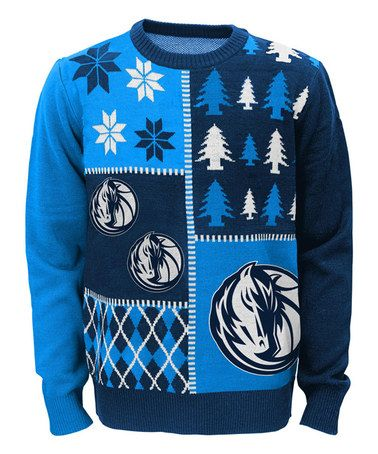 Take a look at this Dallas Mavericks Ugly Sweater - Boys on zulily today!