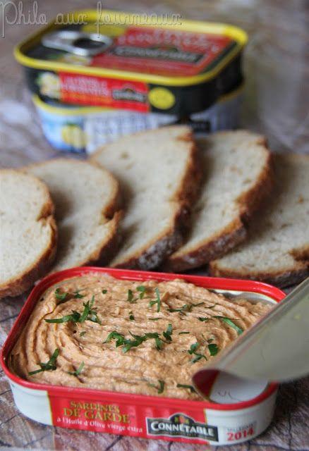 Philo aux fourneaux: Tartinade de sardines à la Portugaise