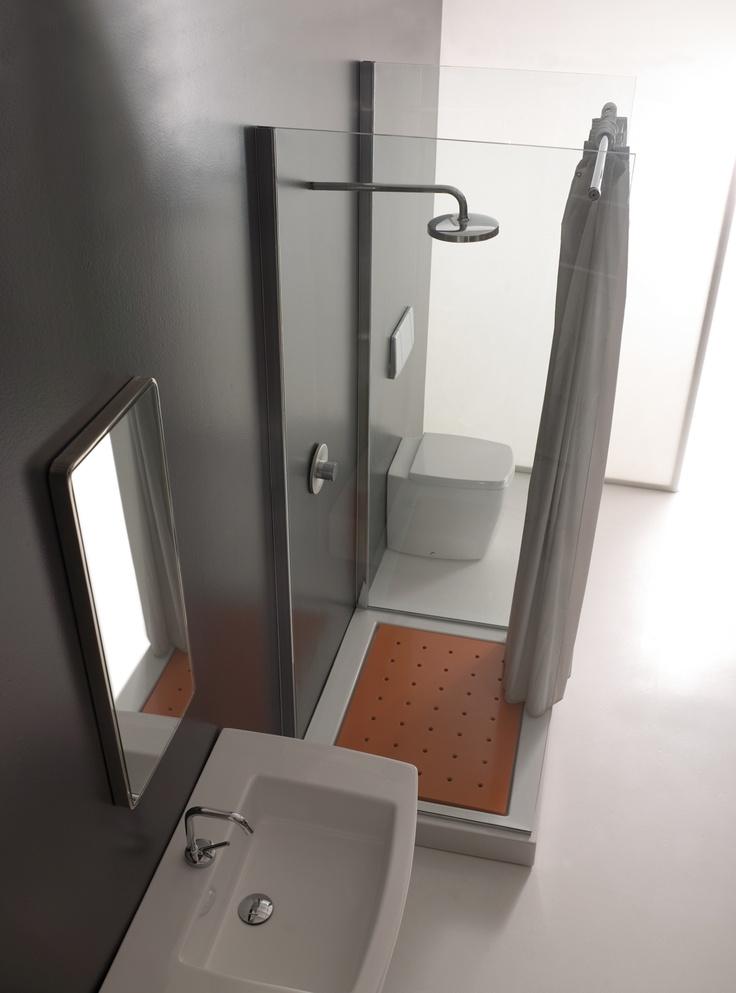 17 migliori idee su tende da doccia su pinterest - Tenda doccia design ...