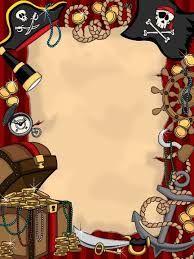 Resultado de imagen para pirate invitation blank