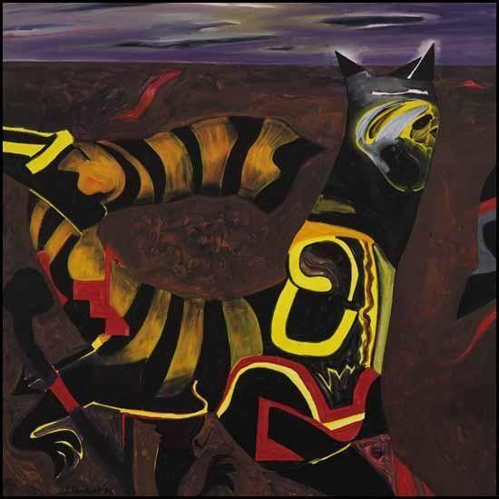 Jack Shadbolt, Mythological, 1986