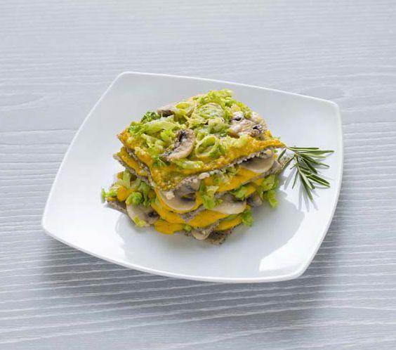 Tagliolini all'uovo con ragù di lenticchie e funghi porcini - Tutte le ricette dalla A alla Z - Cucina Naturale - Ricette, Menu, Diete