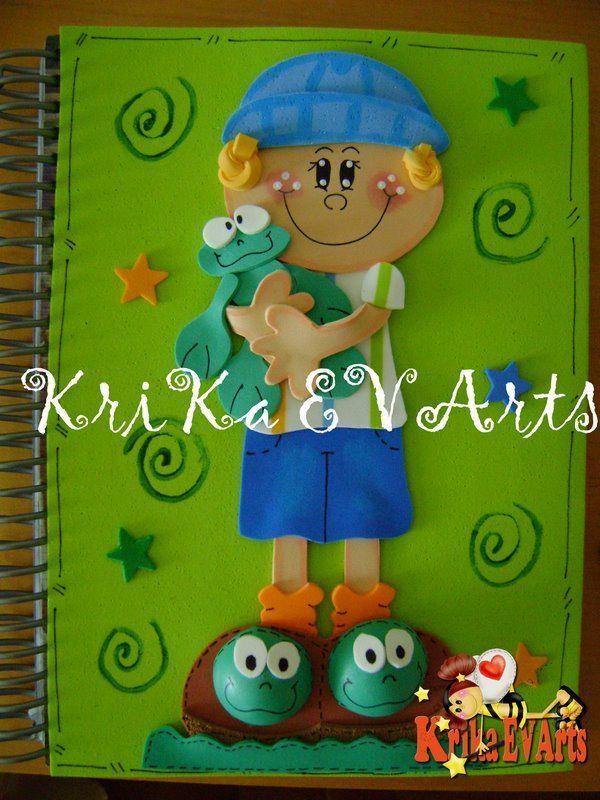 17 Best ideas about Carpetas Decoradas Para Niños on Pinterest ...