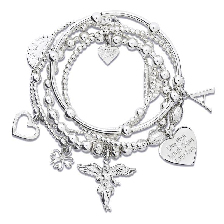 Sama My Guardian Angel #AnnieHaak #CharmBracelet #SterlingSilverBracelets