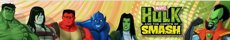 Character Bios and Art for AVENGERS ASSEMBLE and HULK AND THE AGENTS Of S.M.A.S.H — GeekTyrant