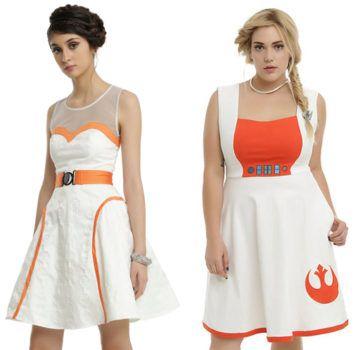 BB-8 dress and Poe flight dress star wars
