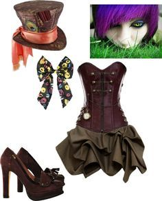 """The Mad Hatter costume"""