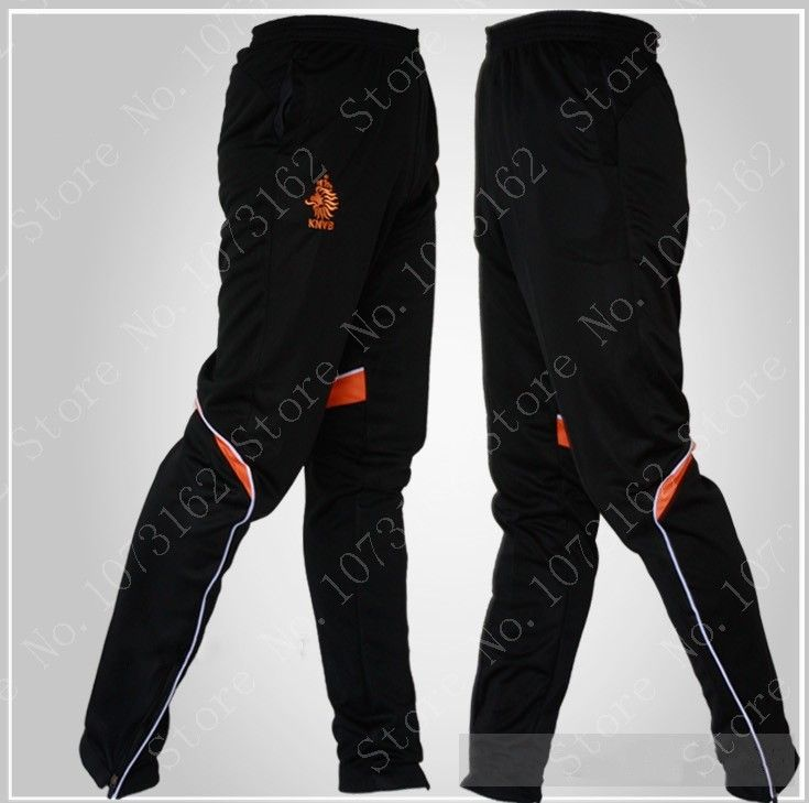 Netherlands Man Soccer Trousers Men Football Pants Boy Sweatpants Man Sports Sportwear Long Pants Training Gym Jogging Athletic $27.50