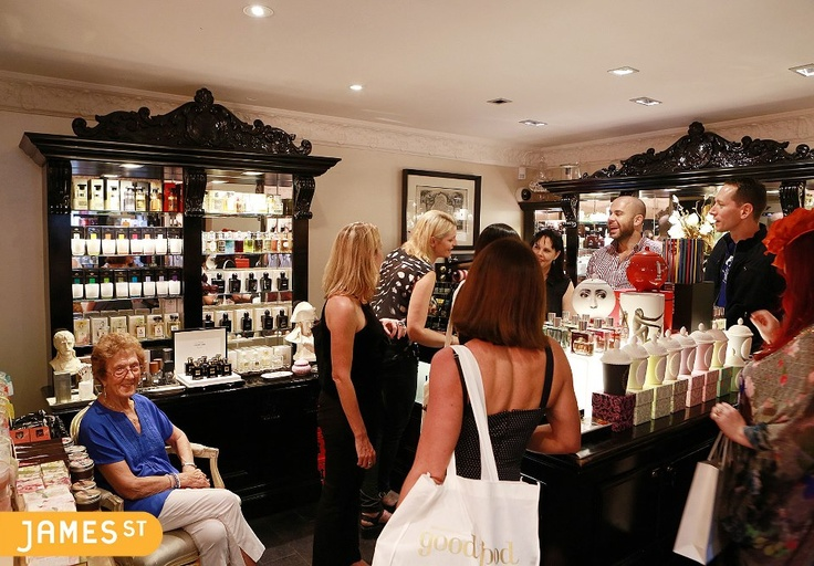 We walked out of Libertine Parfumerie smelling might delicious!