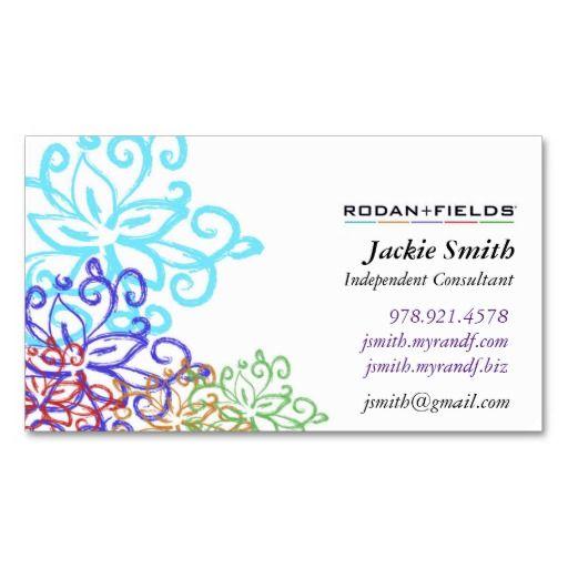 128 best images about rodanfields on pinterest rodan for Rodan and fields business card template