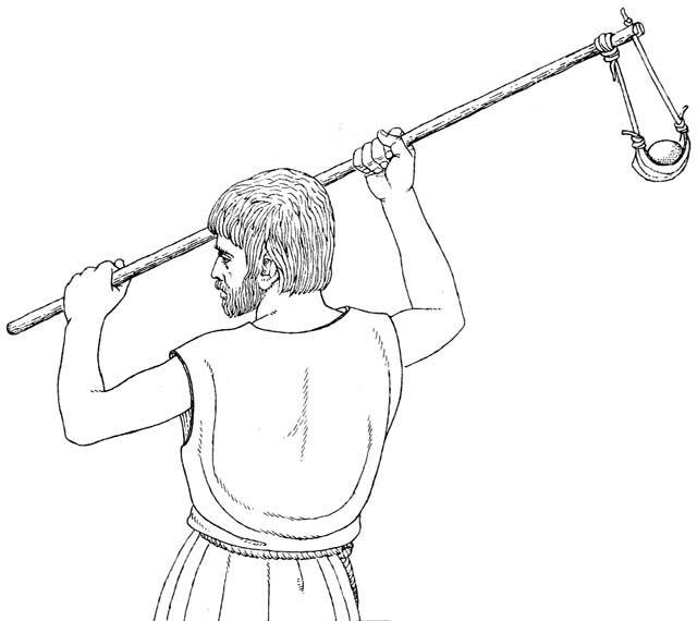 Sling zbraň | Thrown | Army starověku - HLegio 2.0 | Vojenské historické Portál starověku a středověku.