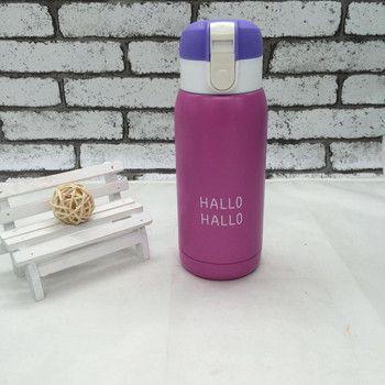 Hot Mini Water Bottle Thermos for Kids Garrafa Stainless Steel Termica Inox Travel Cup Copo Termico Mug Caneca Termica Caixa