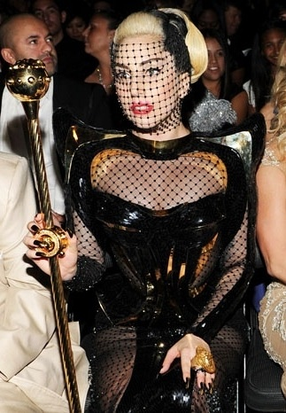 Lady Gaga.. love the costume