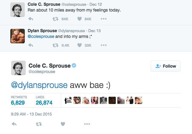 Dylan And Cole Sprouse's 21 Suitest Moments From 2015