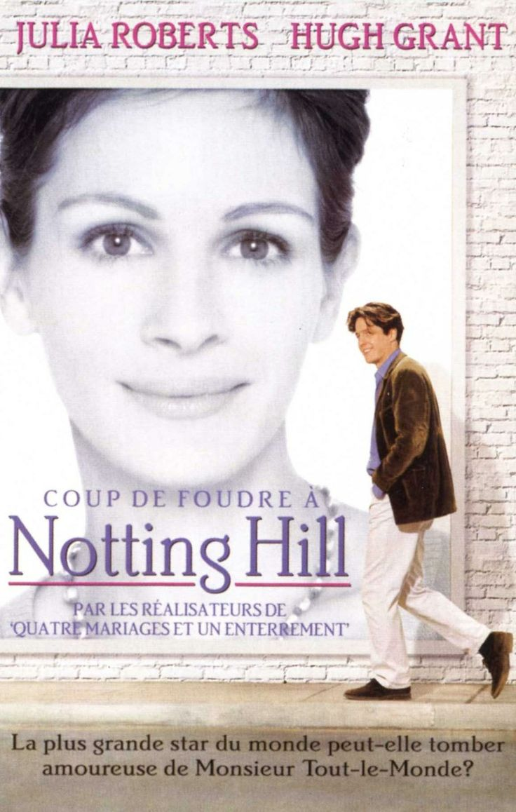 Coup de foudre à Notting Hill. Julia roberts, Coup de