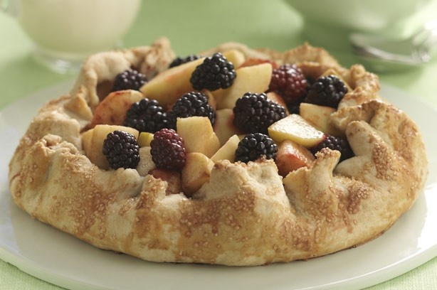 One crust apple and blackberry pie | Versatile Vegetables, Spices, Fr ...