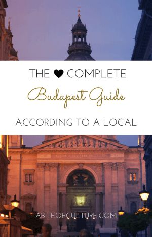 The Complete Budapest Guide: According to a Local- Headed out backpacking? Traveling just for fun through Europe? If you're headed to Budapest, Hungary, be sure to check out this guide! All the best things to do, eat, see, drink, and more! You'll be experiencing Budapest as a local, not as a tourist. Happy travels and enjoy this Budapest guide!