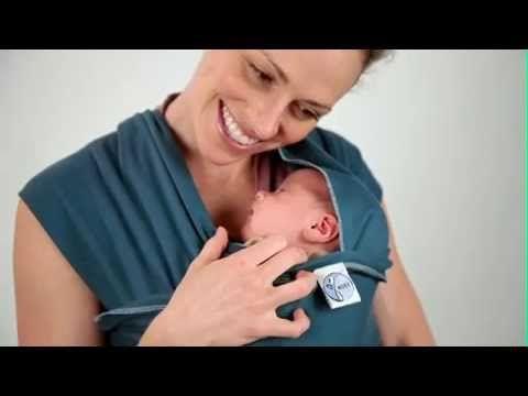 ▶ Babymaxi.com: Moby Wrap Newborn Hug Hold Instructions - YouTube