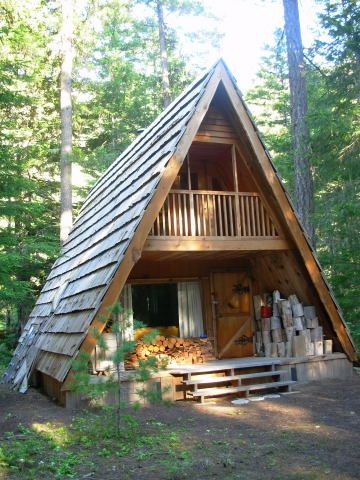 25 best ideas about a frame house kits on pinterest a for Small a frame cabin plans with loft