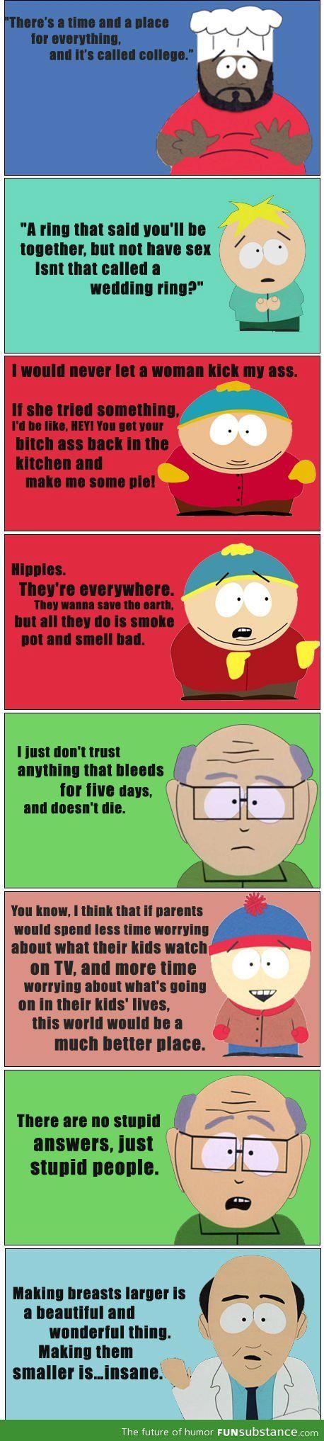 Epic South Park Quotes