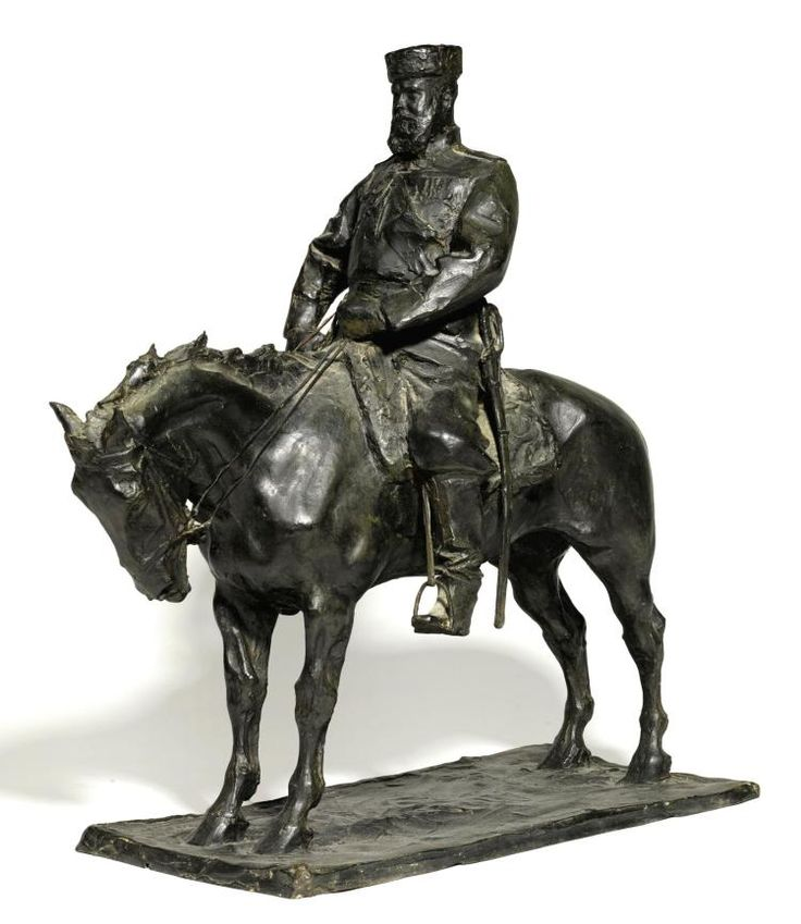 THE MONUMENT TO EMPEROR ALEXANDER III: AN IMPORTANT BRONZE EQUESTRIAN PORTRAIT, AFTER THE MODEL BY PRINCE PAUL TROUBETZKOY (1866-1938), CAST BY VALSUANI FOUNDRY, 1909 |. £ 90 000