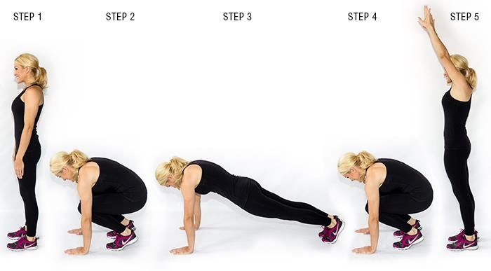 Here are some great bodyweight circuits (some inspired by CrossFit) that you can do anywhere at any time