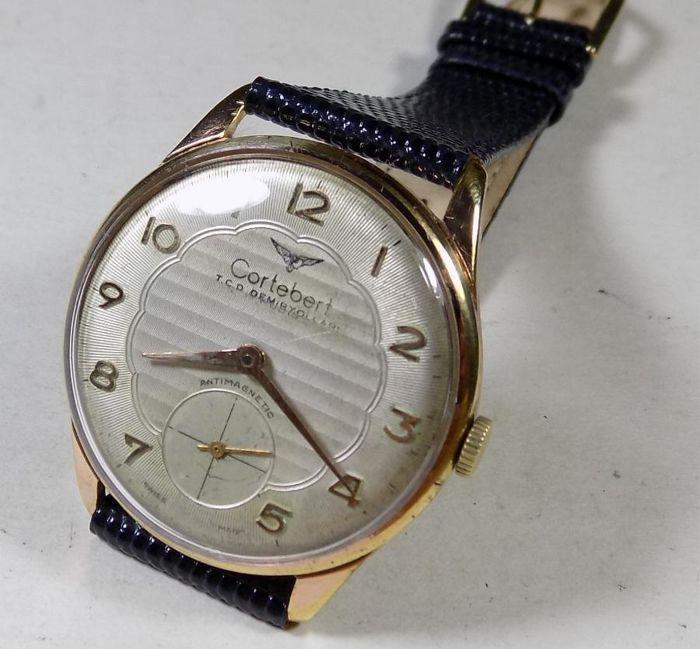 Poppel - Turkse spoorwegen - 1950's - mannen van - Railroad polshorloge  ---Swiss Poppel bekende Railroad horloges fabrikant---Dit horloge van de jaren 1950 vervaardigd voor Turkse staten Railway company---Vergulde geval staal terug. Ondertekend terug---Achterkant heeft Turkse vlag - trein - spoorwegen bedrijfslogo verlichting---Mooie Locustella zilveren Toon Dial---Bellen met Railroad logo ook gestempeld Turkse spoorwegen bedrijfsnaam---17 juwelen Zwitserse Handwind verkeer---Heeft een riem…