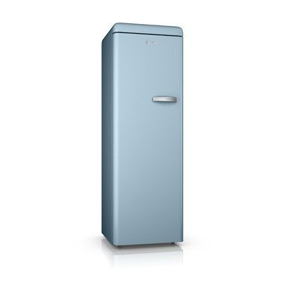 Retro Tall Freezer - Blue - Swan
