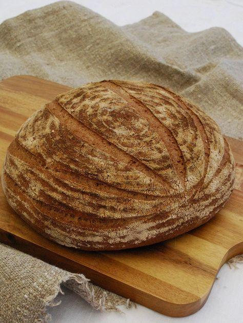 Nu har jag ätit glutenfritt bröd så länge att jag nästan glömt hur bröd med gluten smakar. I somras var jag tvungen att smaka en skiva av lokala bageriets levainbröd och visst var det gott, men inte så att jag kände en stor saknad. Nu kan jag tycka att mitt glutenfria bröd smakar precis som allt annat. Det gör det nog inte helt och hållet, men bara att jag (och familjen) känner så innebär väl att jag lyckats rätt bra i mina bak-försök. För det blir en del försök i köket. Jag bakar ur…