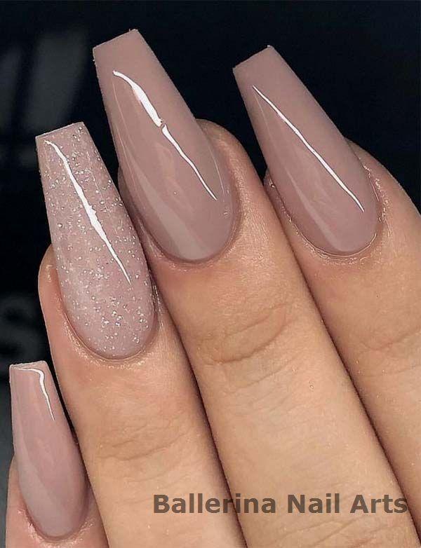 Beliebte Designs für Ballerina-Nägel #nailartideas   – Ballerina Nails