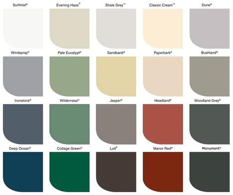 Colourbond Woodland Grey