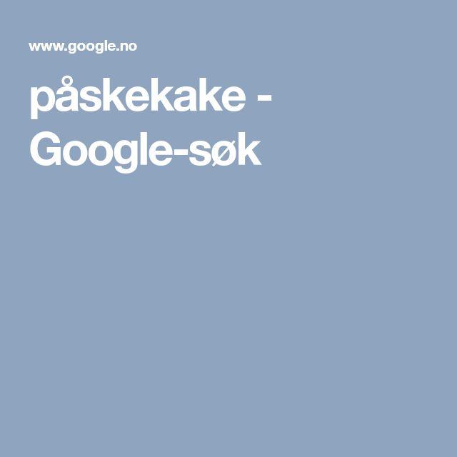påskekake - Google-søk