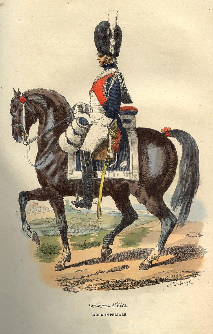 Napoleon_Elite_Gendarme_by_Bellange.jpg (773×1210)