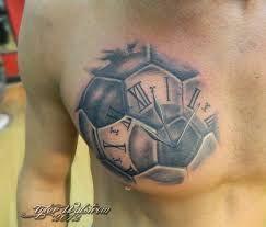 Resultado de imagem para soccer ball tattoo
