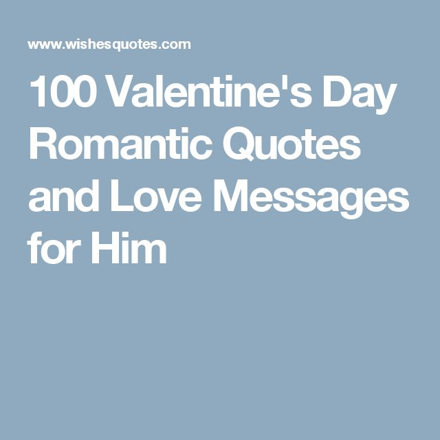 Love Quotes Messages For Him