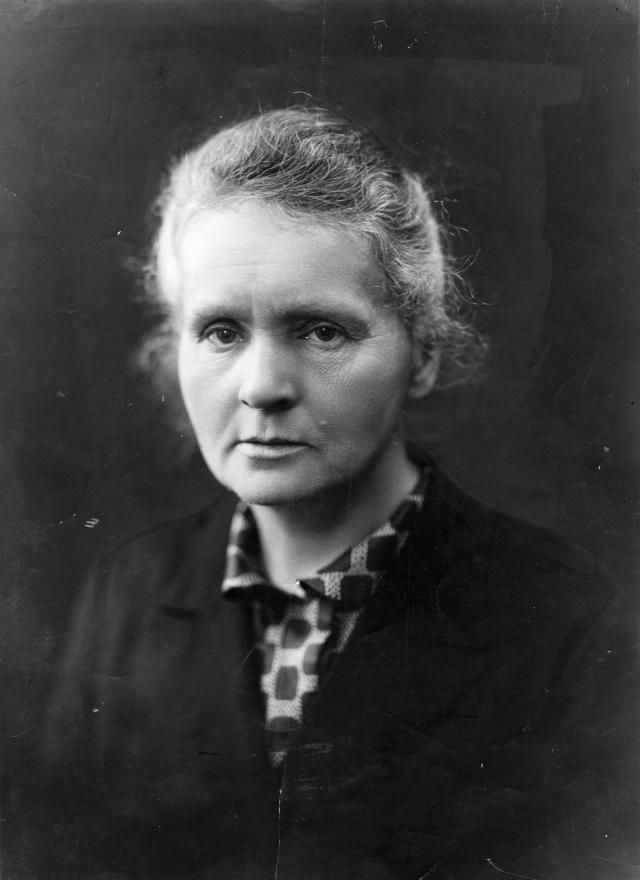 Marie Curie, one of the most important scientists in the 20th century, discovered polonium and radium, and was the first woman awarded a Nobel Prize.