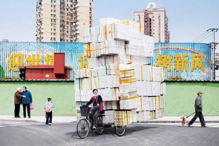 by Alain Delorme, Shanghai 2009-2010