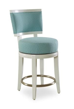 Unique Aqua Counter Height Stools