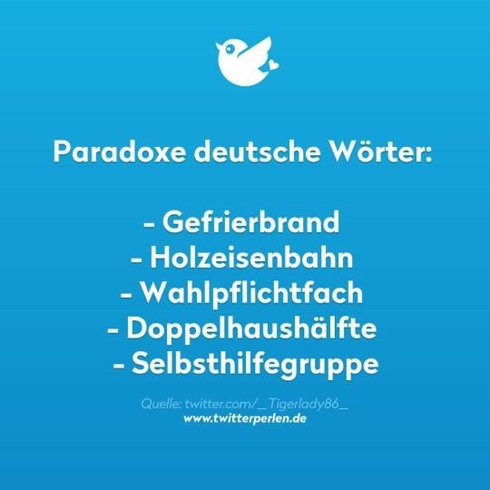 Paradoxe deutsche Wörter...