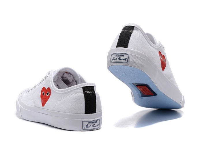 Comme Des Garcons Converse Cdg X Jack Purcell | Grailed