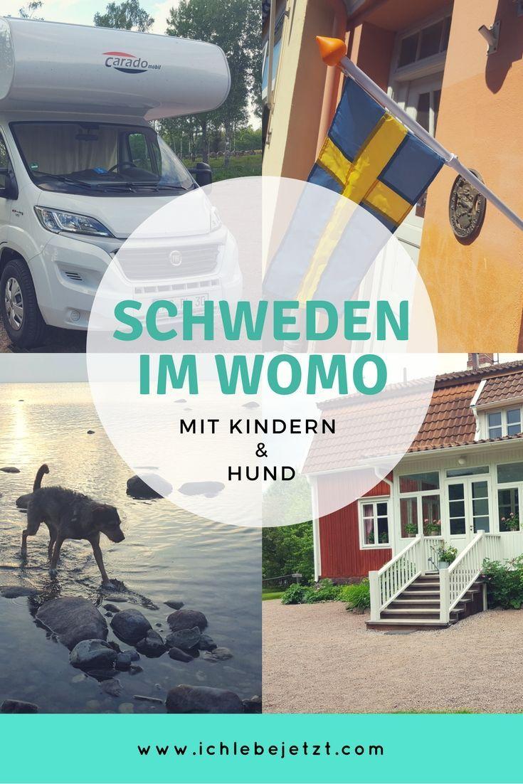 Mit Kindern Und Hund Quer Durch Sudschweden Zu Funft Im Wohnmobil Traumhaft Reisen Einfach Dort Ubernachten Wo Sudschweden Schweden Urlaub Camping Schweden