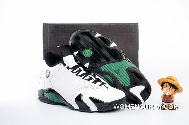 "https://www.womencurry.com/oxidized-green-air-jordan-14-white-black-green-super-deals.html ""OXIDIZED GREEN"" AIR JORDAN 14 WHITE – BLACK/GREEN SUPER DEALS Only $93.99 , Free Shipping!"