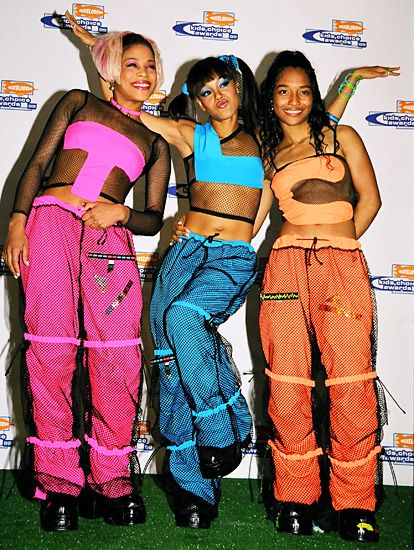 TLC always had the most memorable outfits.