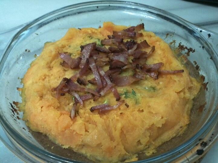 Sweet potato mash, Blue cheese and Smoke on Pinterest