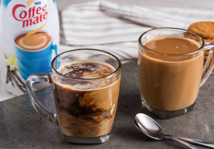Be your own barista and make yourself a smooth and creamy French Vanilla coffee, right at home!   Just 2 ingredients and 1 easy step to the perfect French Vanilla coffee.