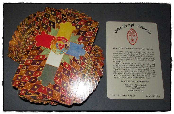 crowley thoth tarot deck pdf