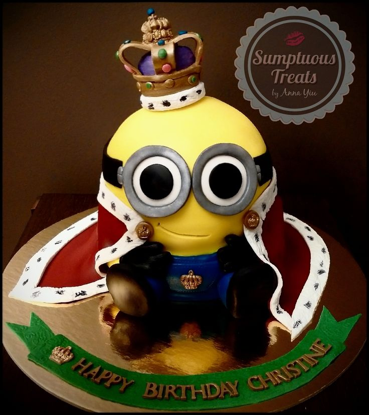 39 best minion cakes images on Pinterest Cake minion Minion party
