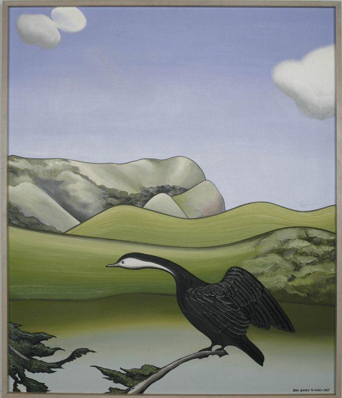 Pond Bird, Te Henga - Don Binney 1967