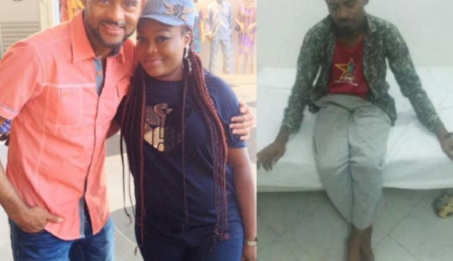 Nollywood actor, Leo Mezie pictured looking very healthy after successful kidney surgery (See Photos)